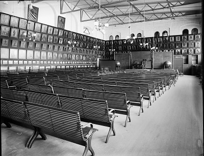 Lecture Room and Catlin Exhibit, U.S. National Museum