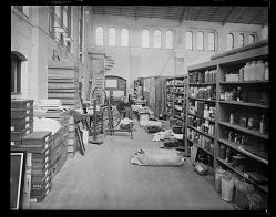 United States National Museum Workroom