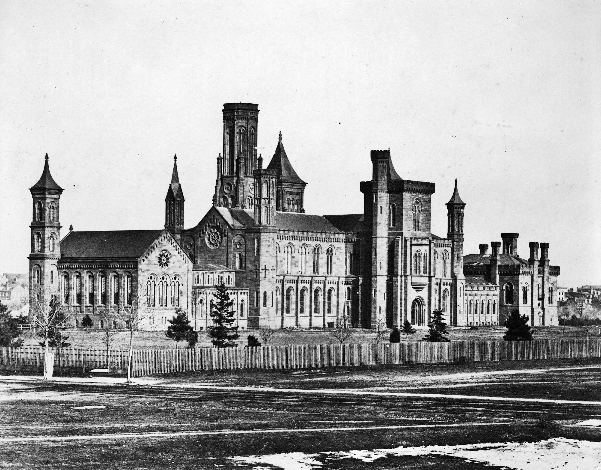 Smithsonian Institution Building, 1858