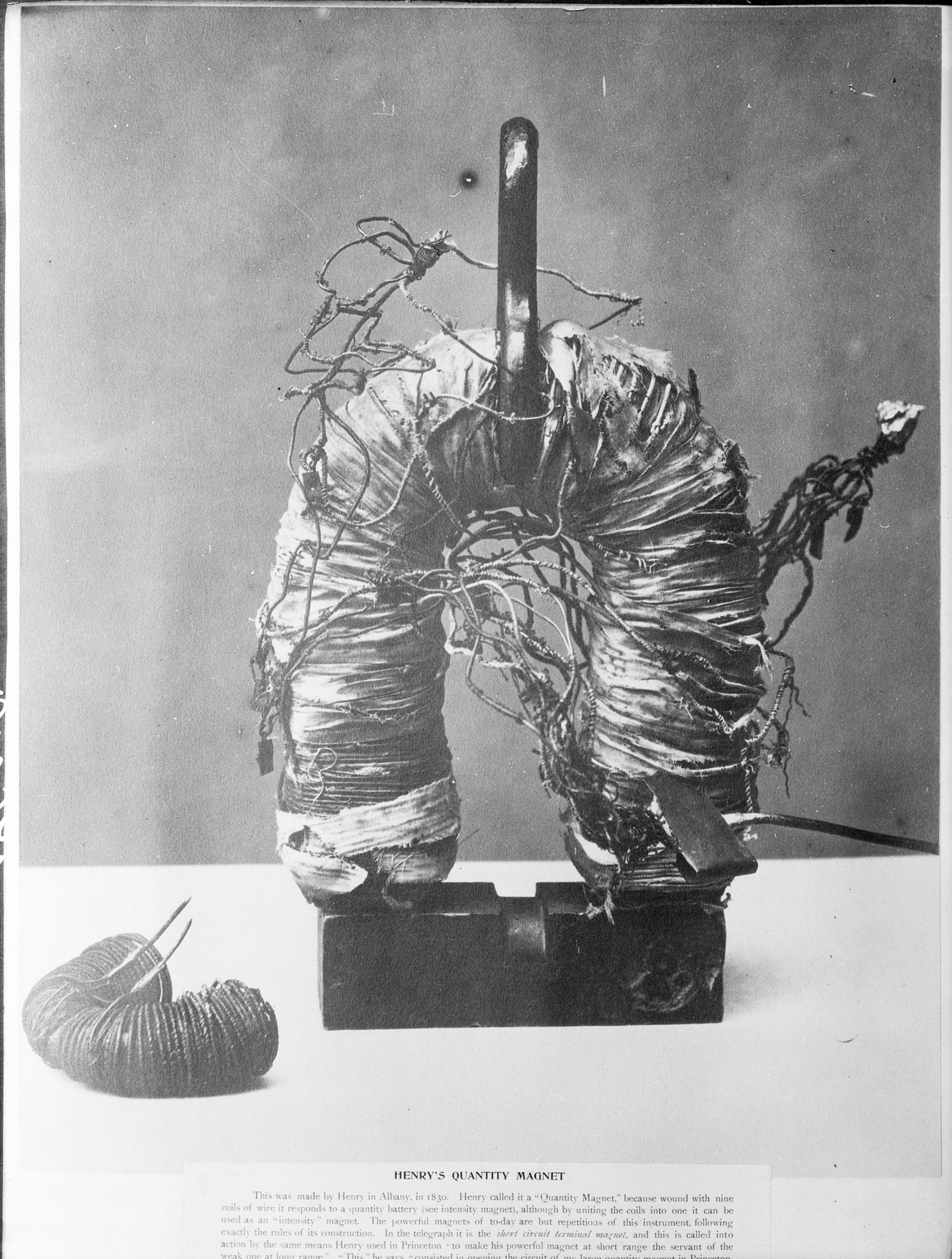 Henry's Early Research in Electromagnetism