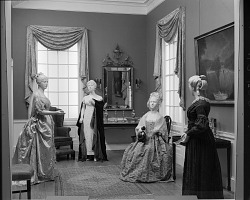 First Ladies Gowns Exhibited in Arts & Industries