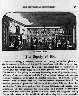 Gallery of Art in the Smithsonian Institution Building (Uncropped)