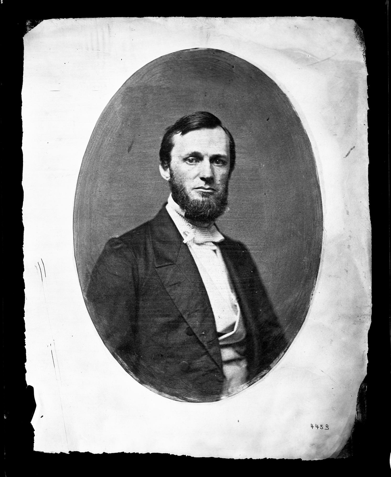 Portrait of Spencer Fullerton Baird, 1850