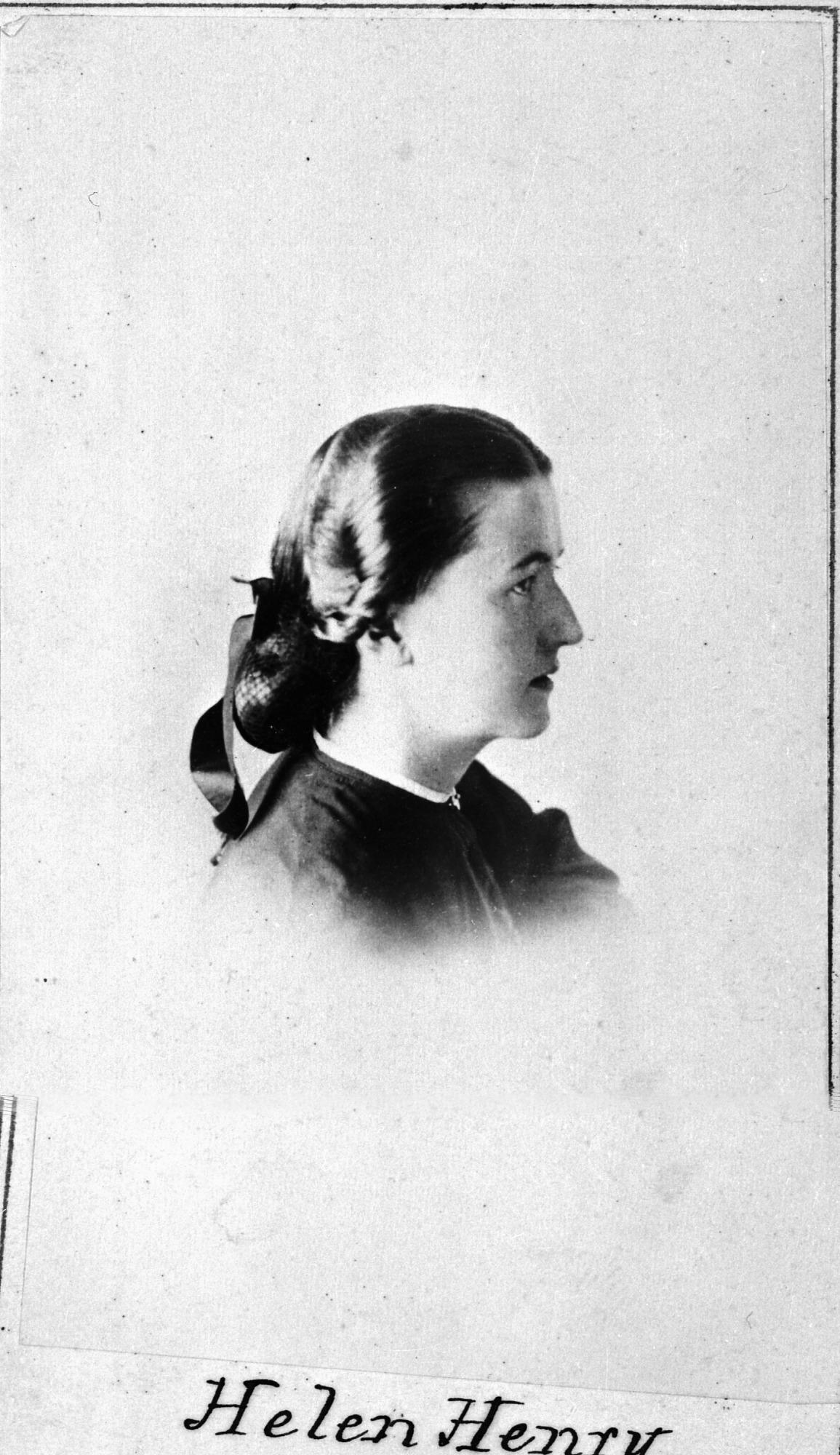 Joseph Henry's daughter Helen