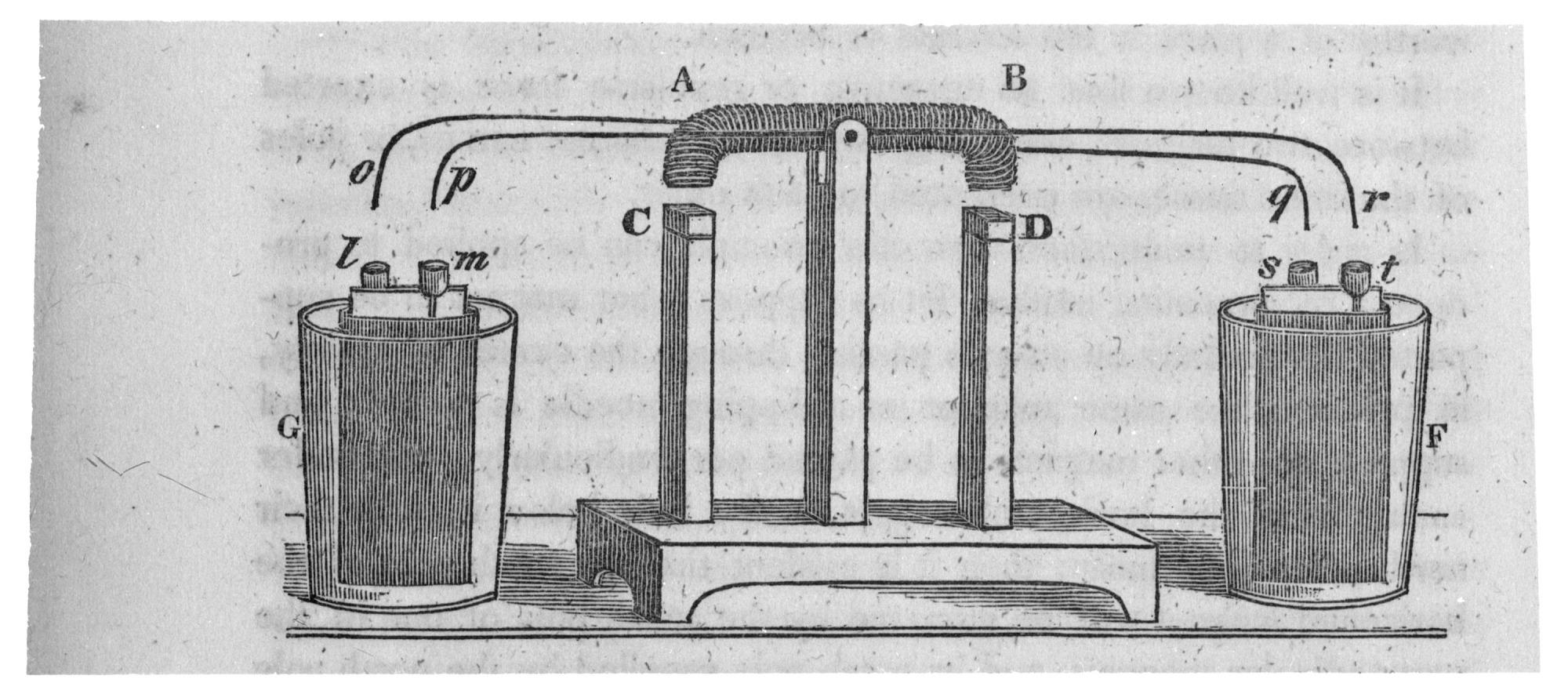 Joseph Henry's Oscillating Electromagnet Motor