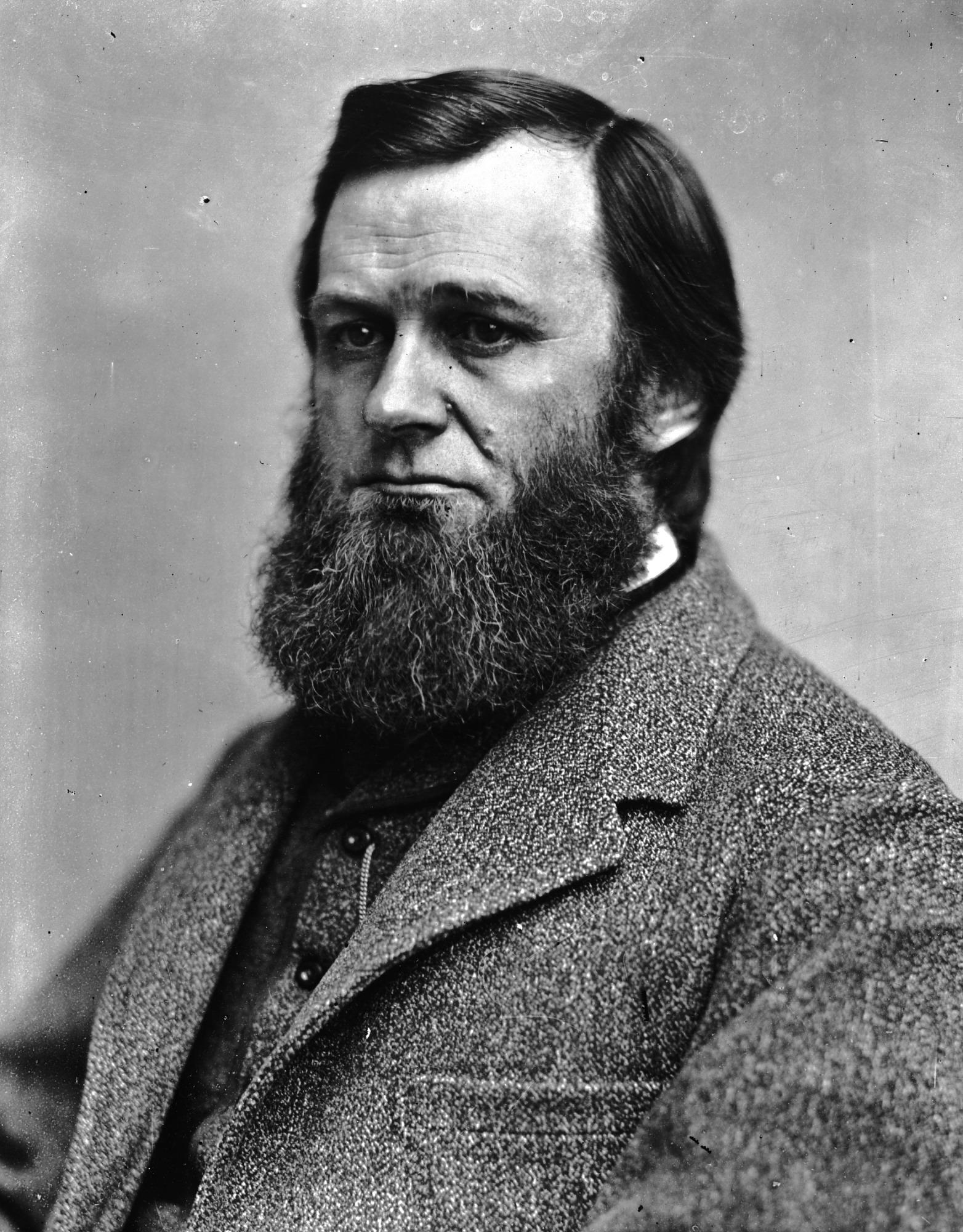 May 4 Portrait of Spencer Fullerton Baird