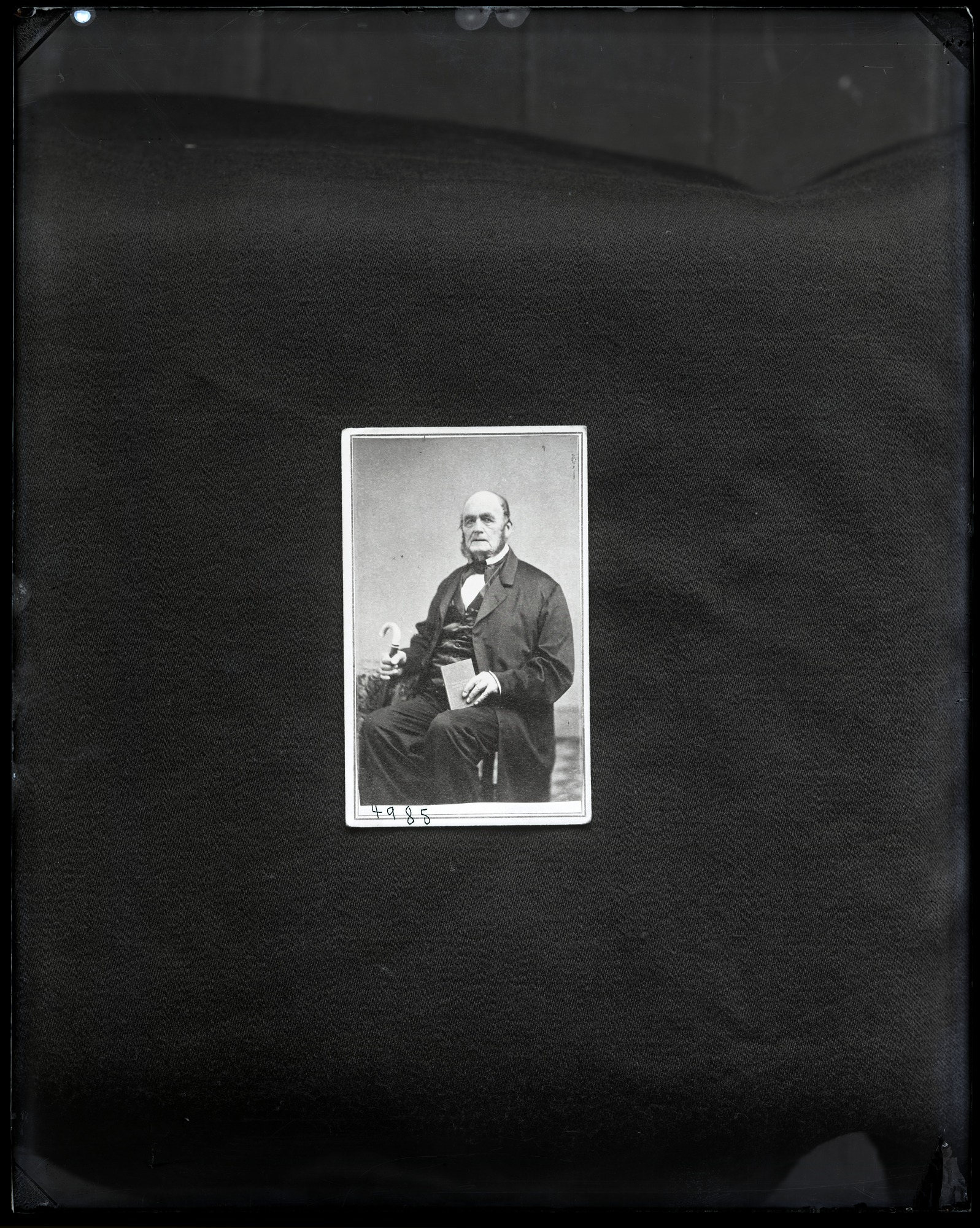 Carte-de-visite, Portrait of Unidentified Man