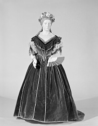 First Ladies Gowns, Mary Todd Lincoln