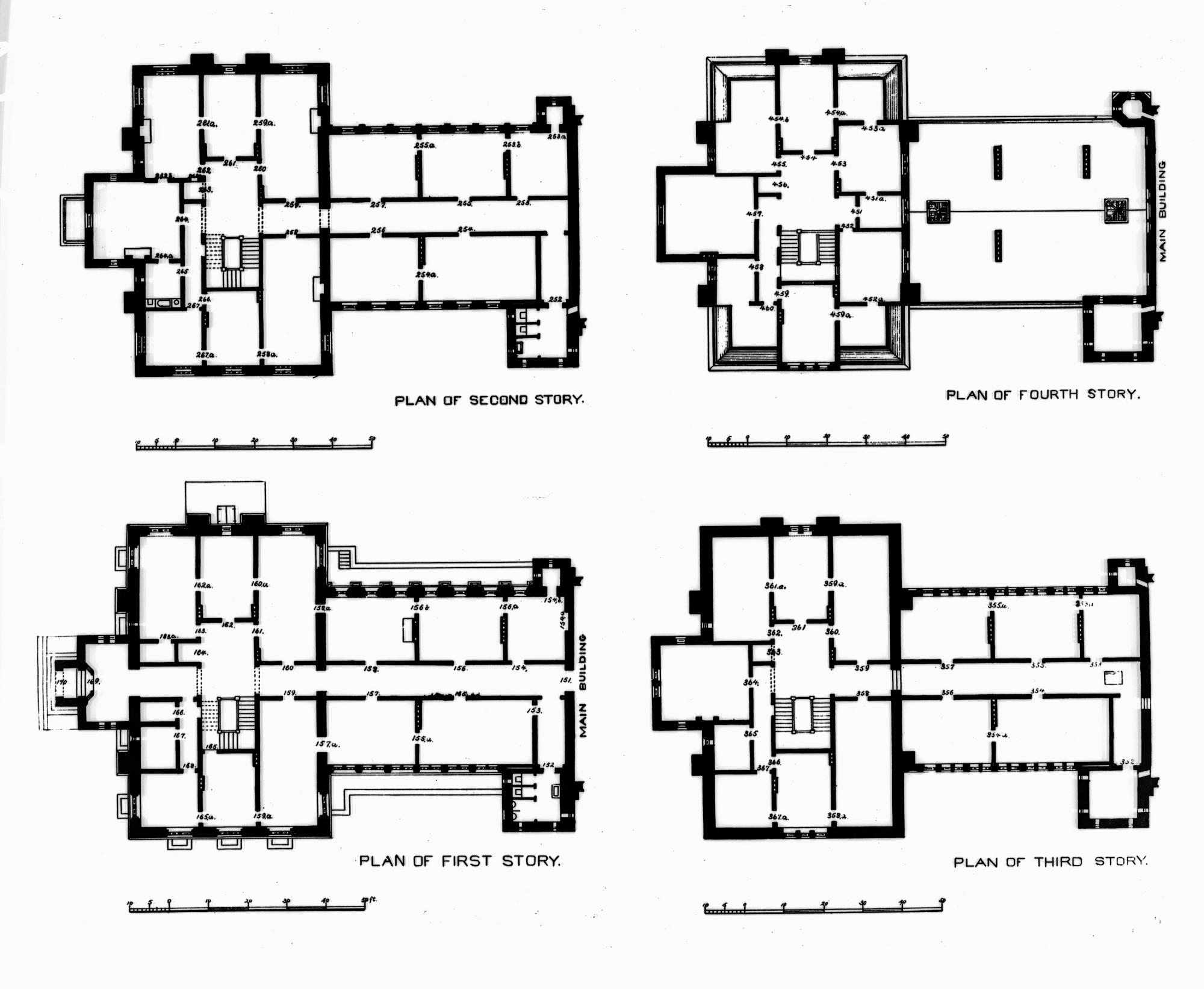 Floor Plan for East Wing, SIB