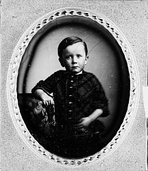Secretary Charles D. Walcott as a Young Child