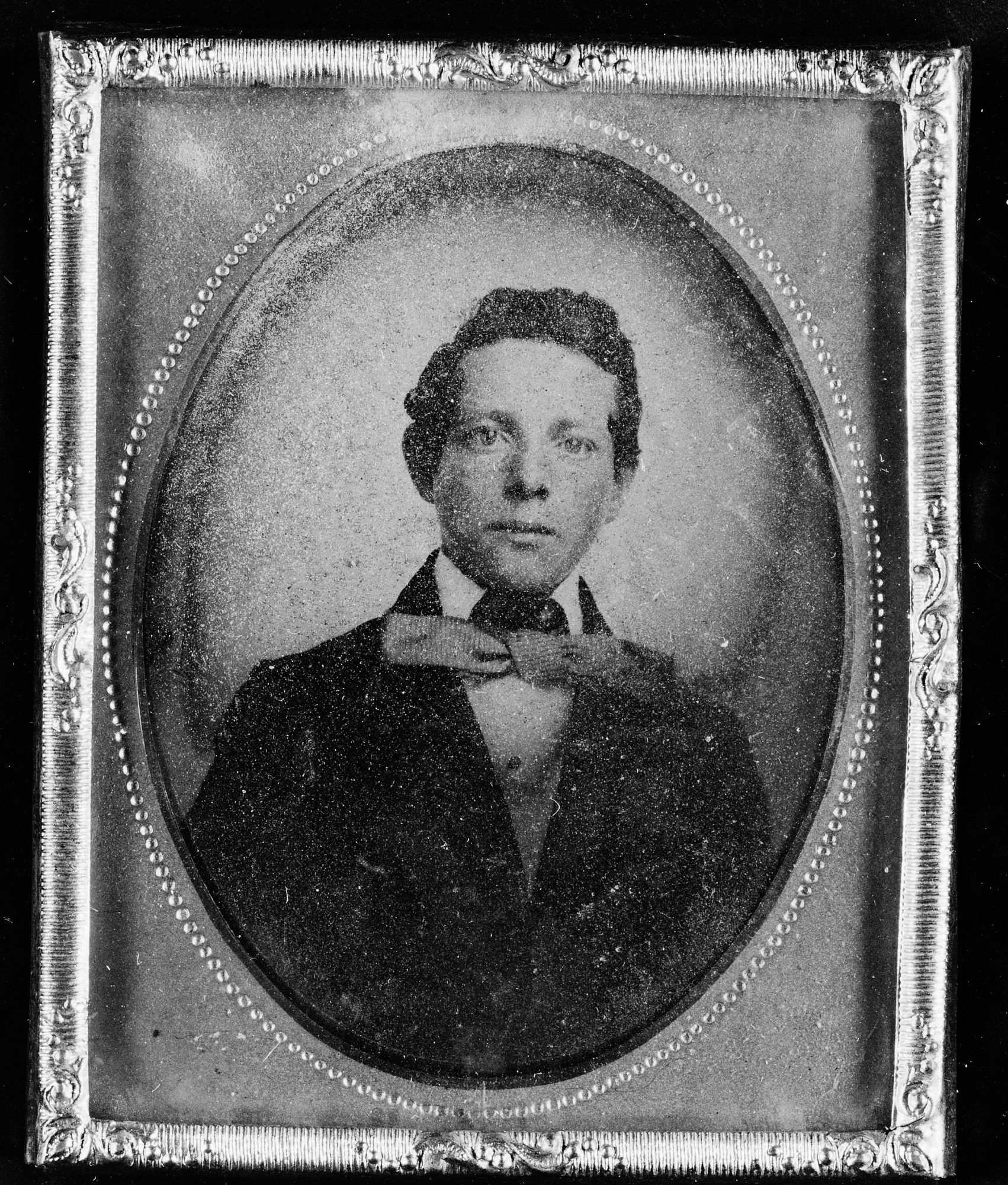 Secretary Charles D. Walcott as a Young Man