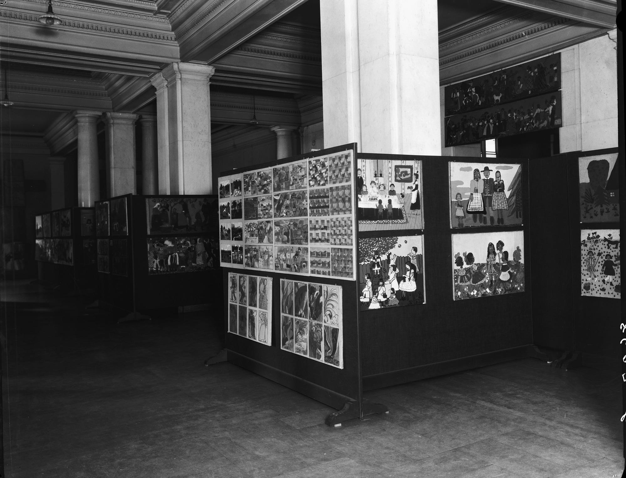 Exhibit of Art by Viennese Children