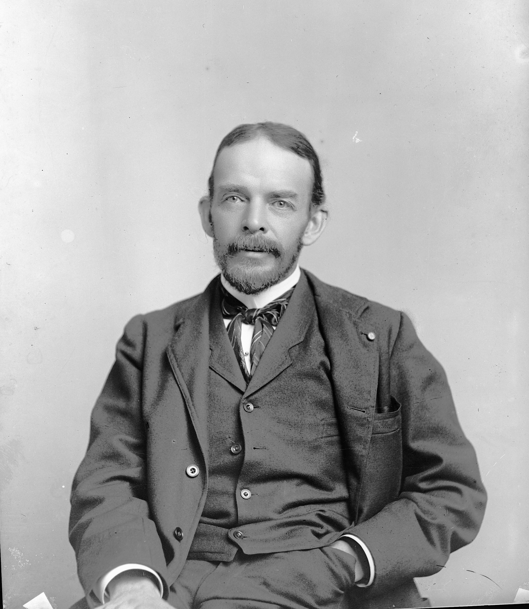 George Brown Goode, by Unknown, c. 1880s, Smithsonian Archives - History Div, 9508 or MAH-9508.