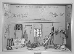 Buffalo Hunters Exhibit, National Museum of Natural History