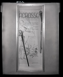 """Lacrosse"" Exhibit Case"