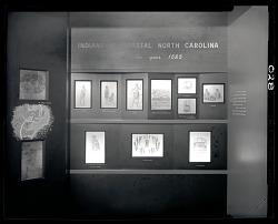 """Indians of Coastal North Carolina"" Exhibit Case"