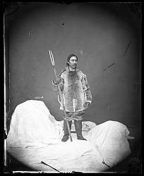 Unidentified Male Models Eskimo Clothing