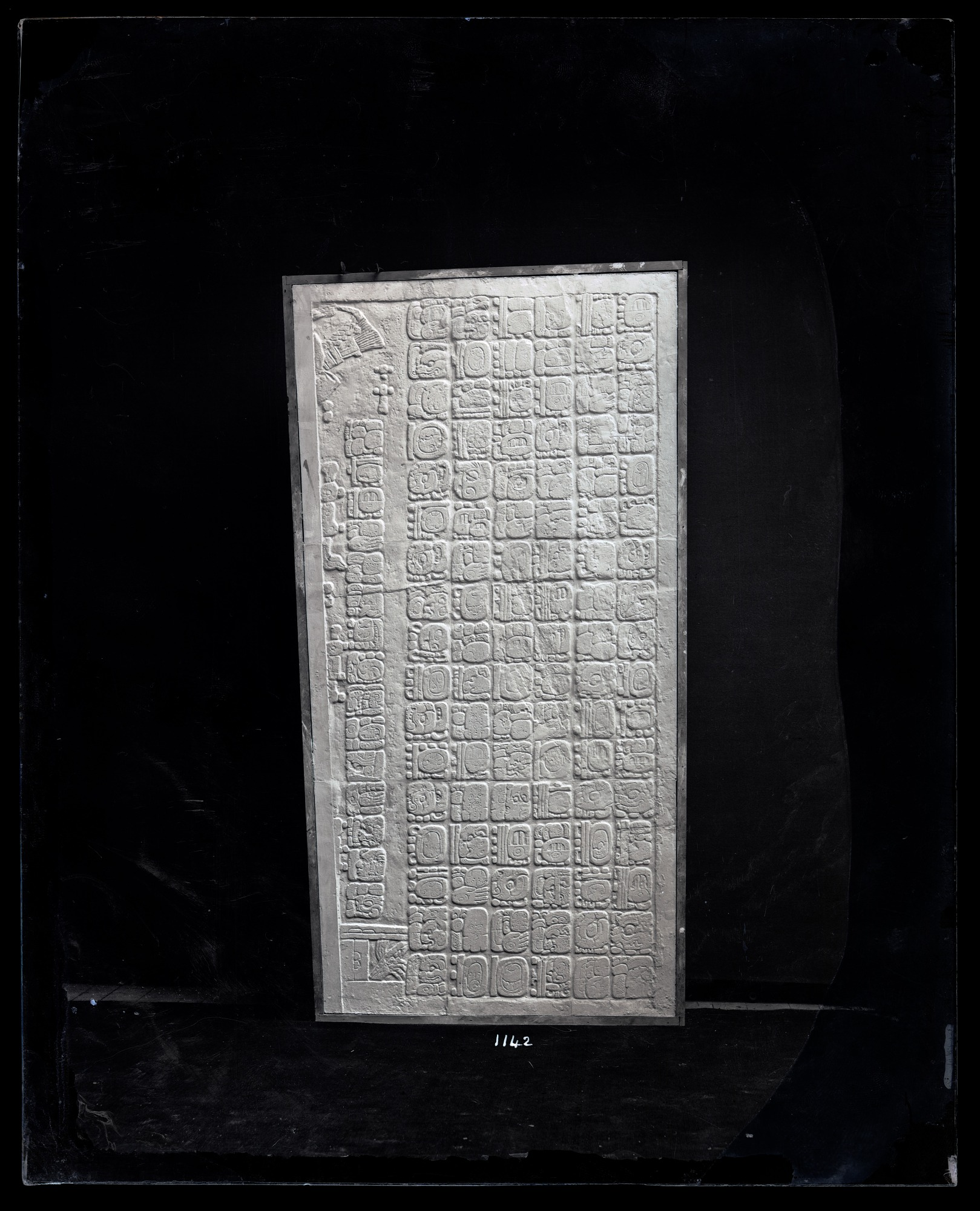 Cast of Palenque Tablet, 1880, Smithsonian Institution Archives, SIA Acc. 11-007 [MNH-1142].
