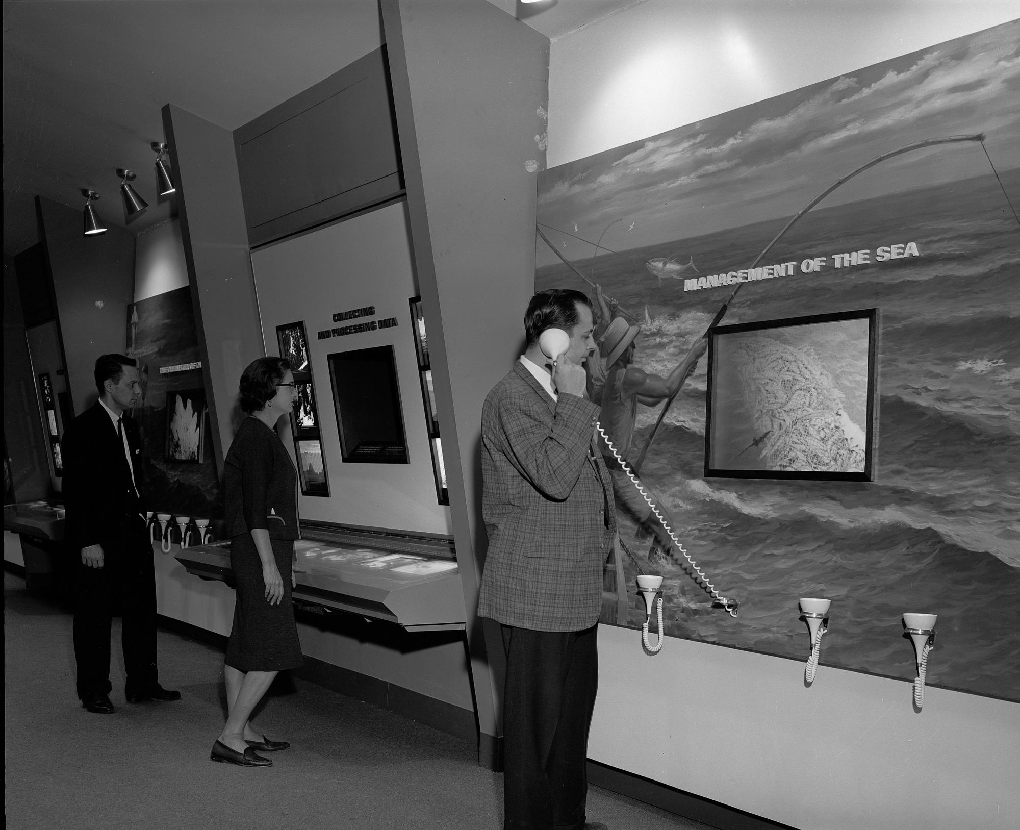 Return to the Sea Exhibit, NHB