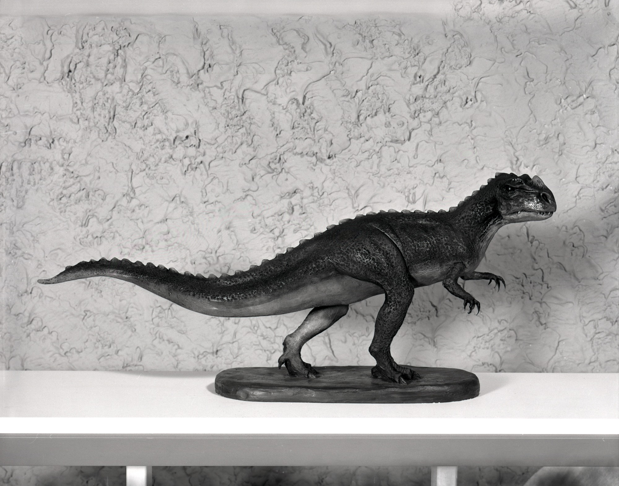 Ceratosaurus Nasicornis Model, 1965, Smithsonian Institution Archives, SIA Acc. 16-126 [MNH-1367].