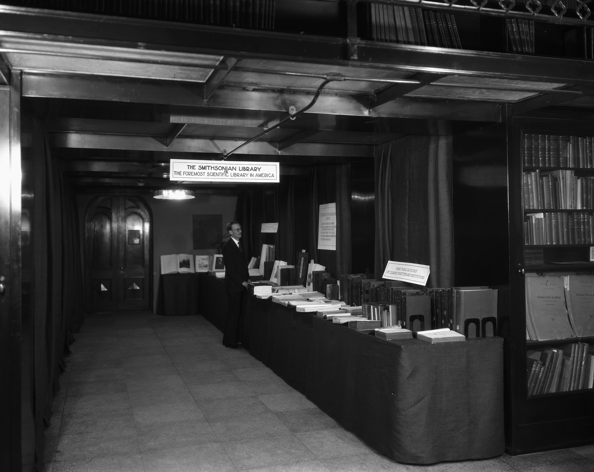 Library Exhibit, Conference on Future