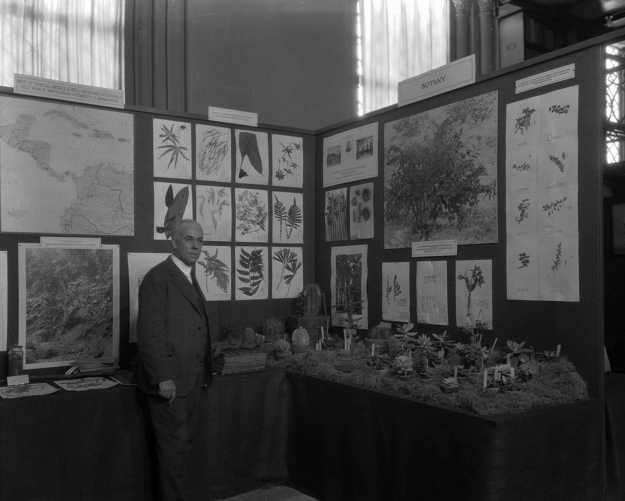 Herbarium Exhibit, Conference on Future