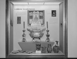"""""""A Shrine to Confucius"""" Exhibit"""