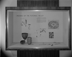 Archeology Exhibit, National Museum of Natural History, Indians of the Potomac Valley