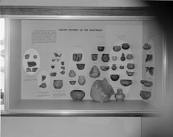 Archeology Exhibit, National Museum of Natural History, Native Pottery of the Southeast