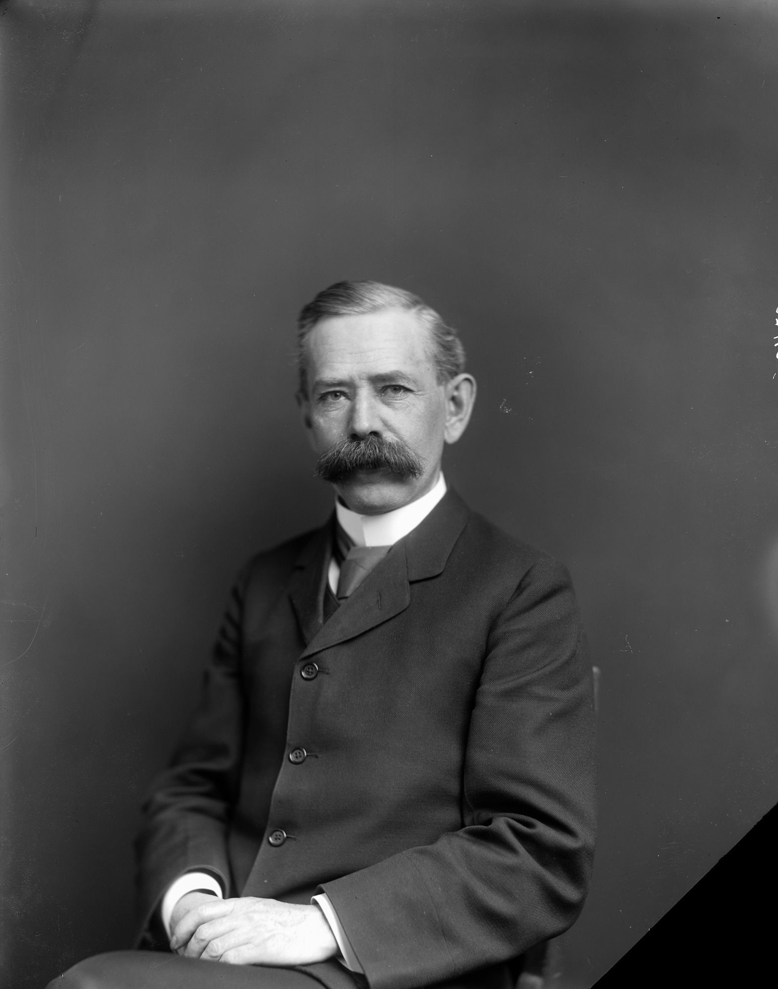 Edgar A. Mearns, by Unknown, c. 1900, Smithsonian Archives - History Div, 21452 or NHB-21452.