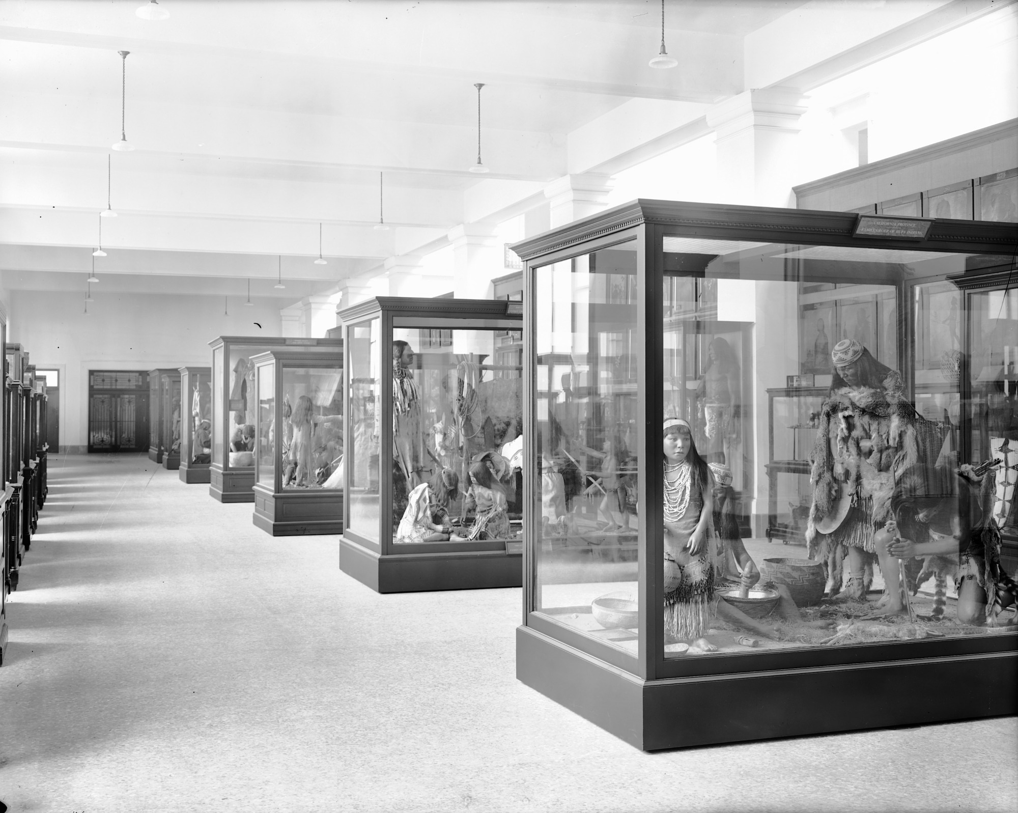 Early Native American Exhibit in new United States National Museum