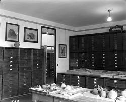 Department of Prehistoric Archaeology Storage, 1911
