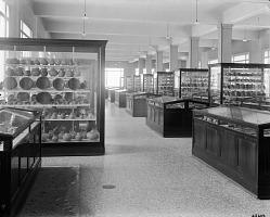 Pottery Exhibit, Anthropology Hall