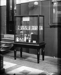 Exhibit Case with Specimen Jars, A&I Building