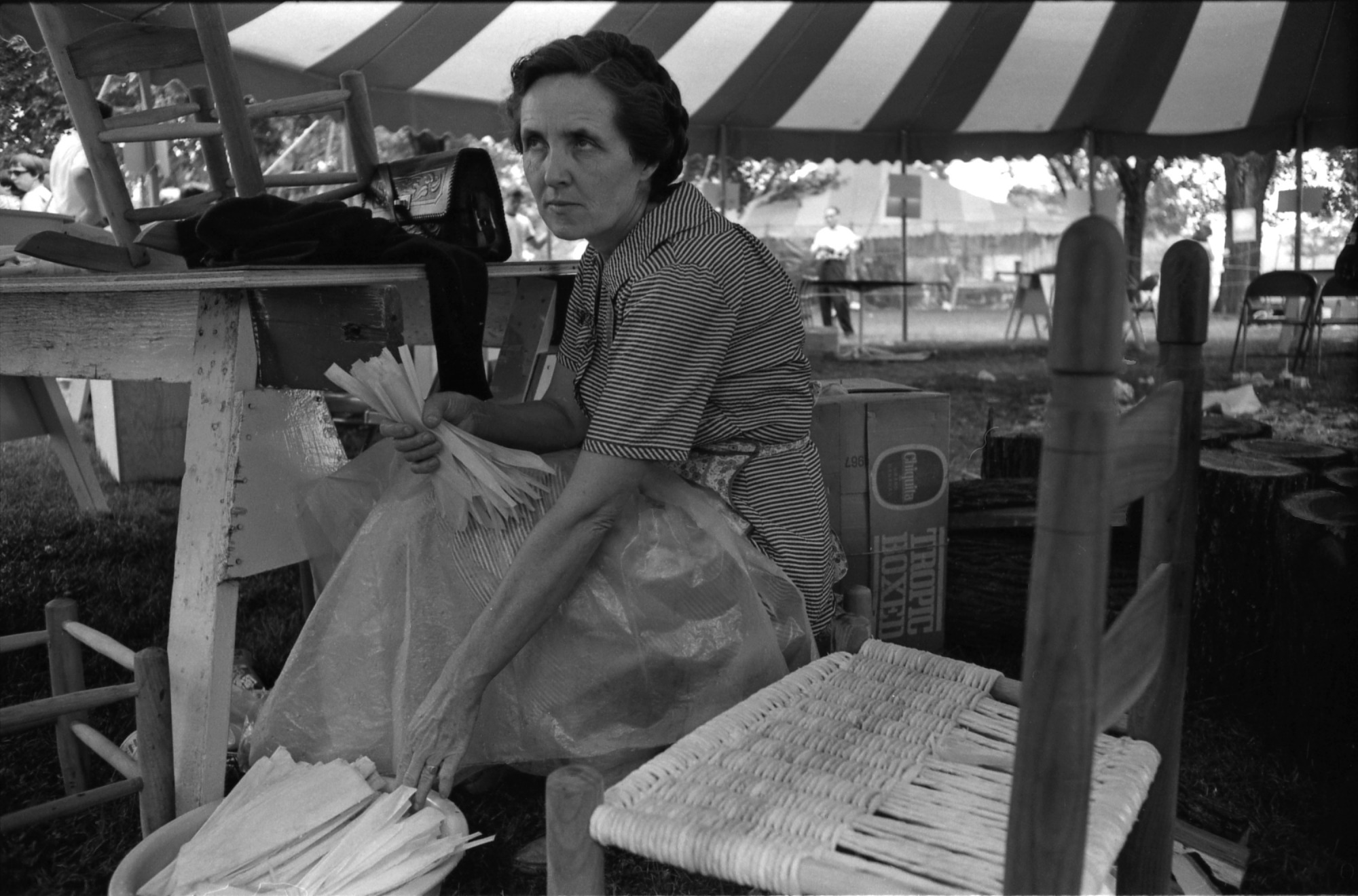 Woman at Festival of American Folklife, 1967