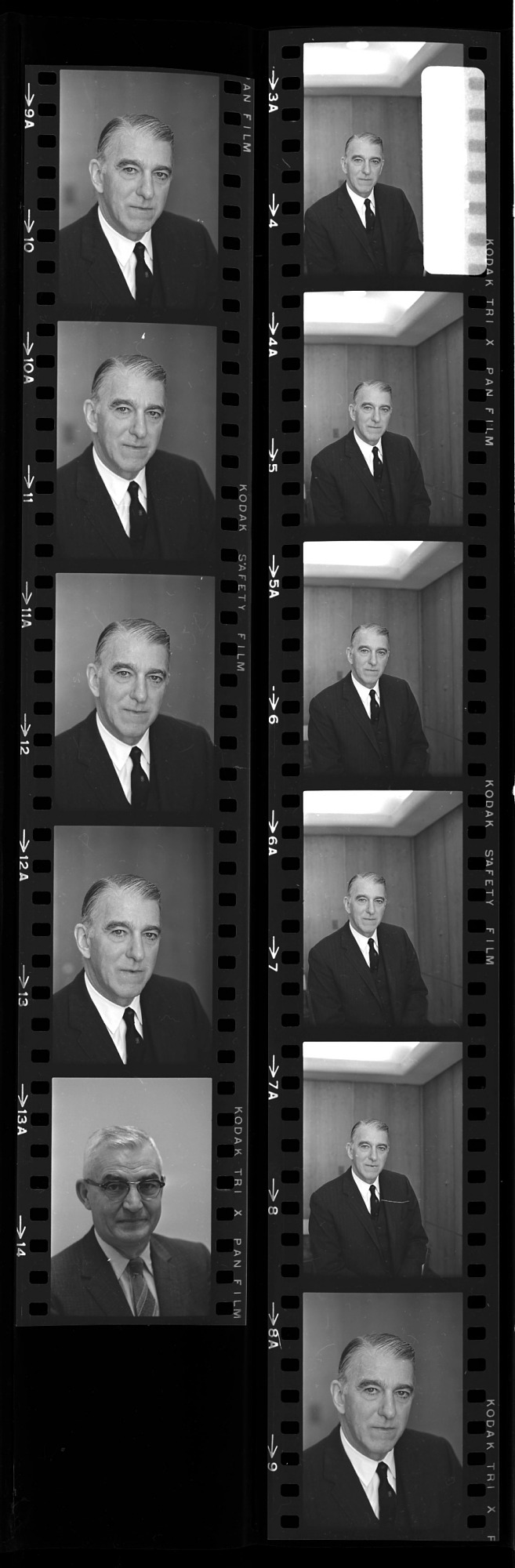 Portrait of Frank A. Taylor, 1966, Smithsonian Institution Archives, SIA Acc. 11-008 [OPA-1655R1].