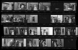 "First Lady Patricia Nixon Visits ""John Adams"" Exhibit"