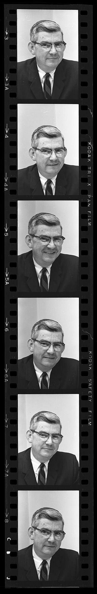 Portrait of Charles L. Clapp, 1967, Smithsonian Institution Archives, SIA Acc. 11-008 [OPA-2].