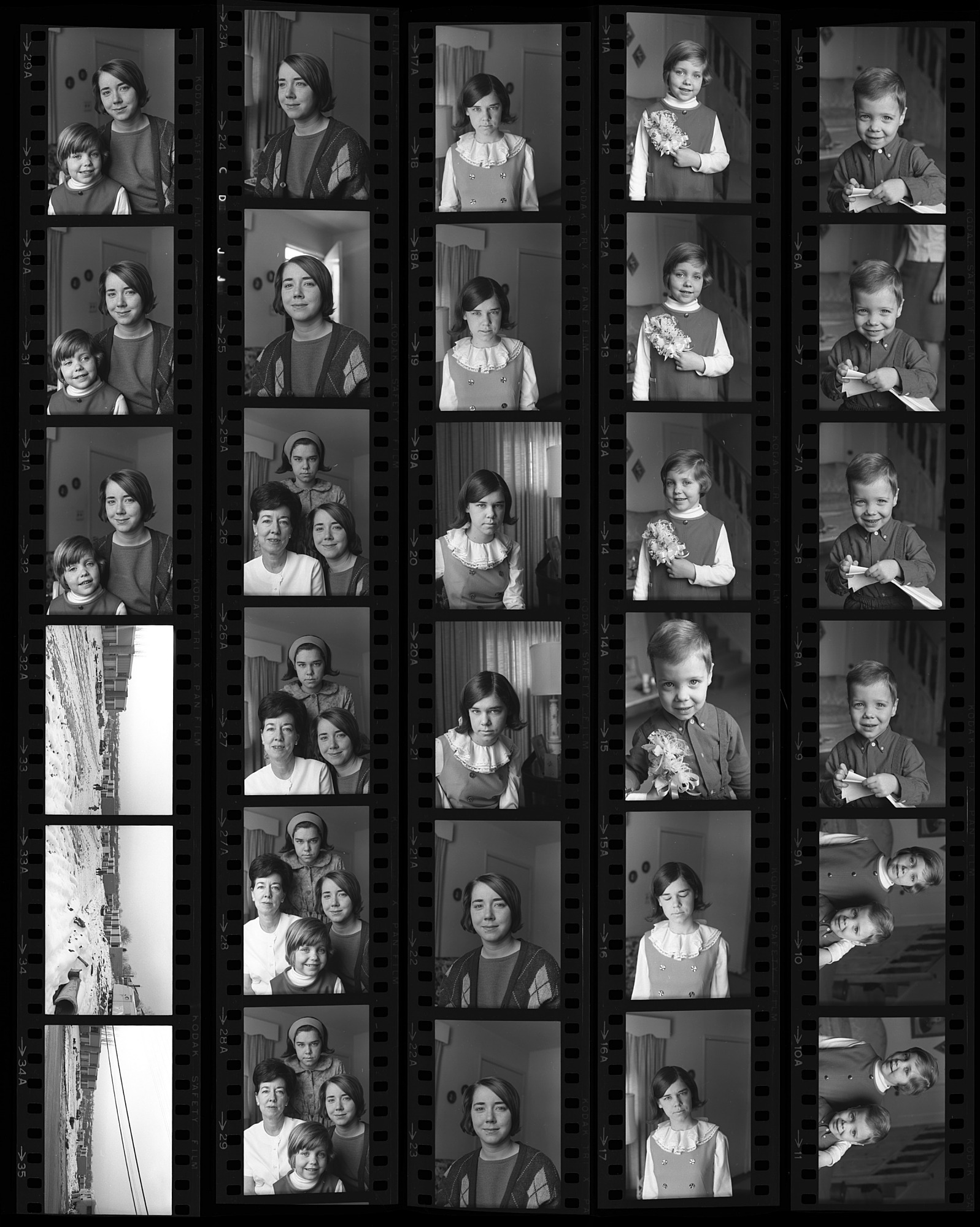 Unidentified Portraits; Unidentified Construction