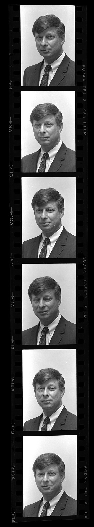 Portrait of Unidentified Male, 1965, Smithsonian Institution Archives, SIA Acc. 11-008 [OPA-22].