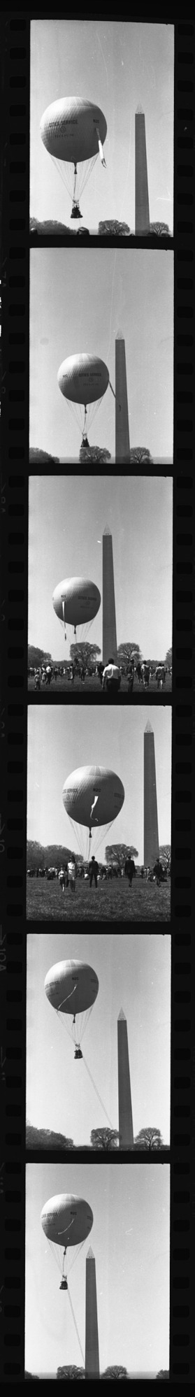 Hot Air Balloon Launch, 1965, Smithsonian Institution Archives, SIA Acc. 11-008 [OPA-25].
