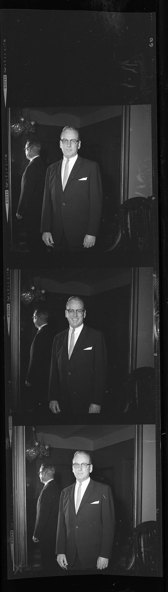 Portrait of Assistant Secretary James C. Bradley