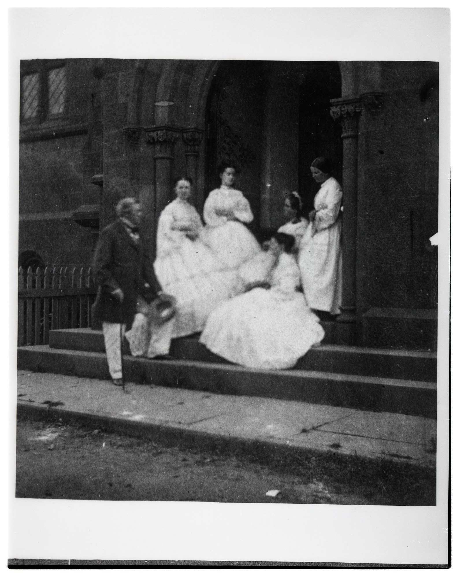 Henry Family at East Door of Castle