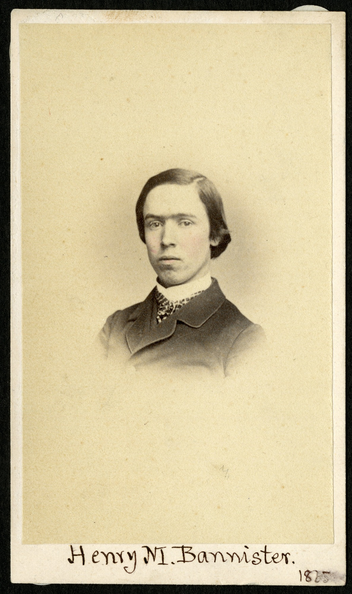 Henry Martyn Bannister (1844-1920), 1865, Smithsonian Institution Archives, SIA RU000095 [SA-276].