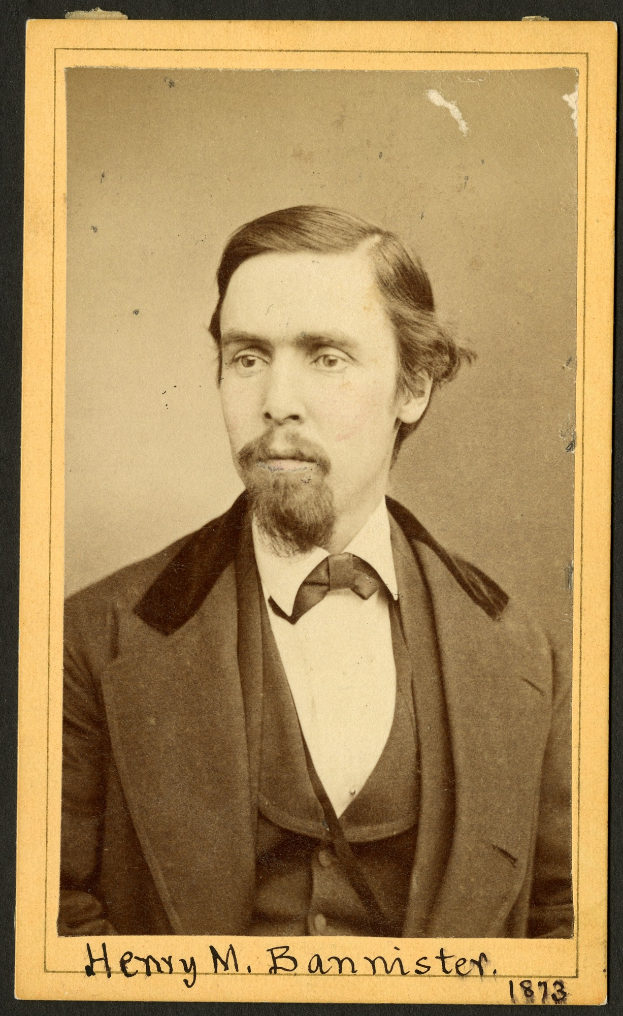 Henry Martyn Bannister (1844-1920), 1873, Smithsonian Institution Archives, SIA RU000095 [SA-277].