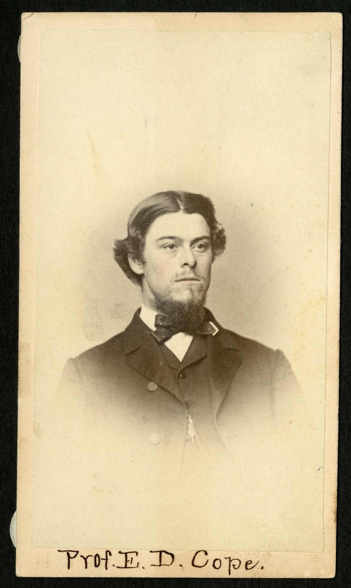 Edward Drinker Cope (1840-1897), Smithsonian Institution Archives, SIA RU000095 [SA-420].
