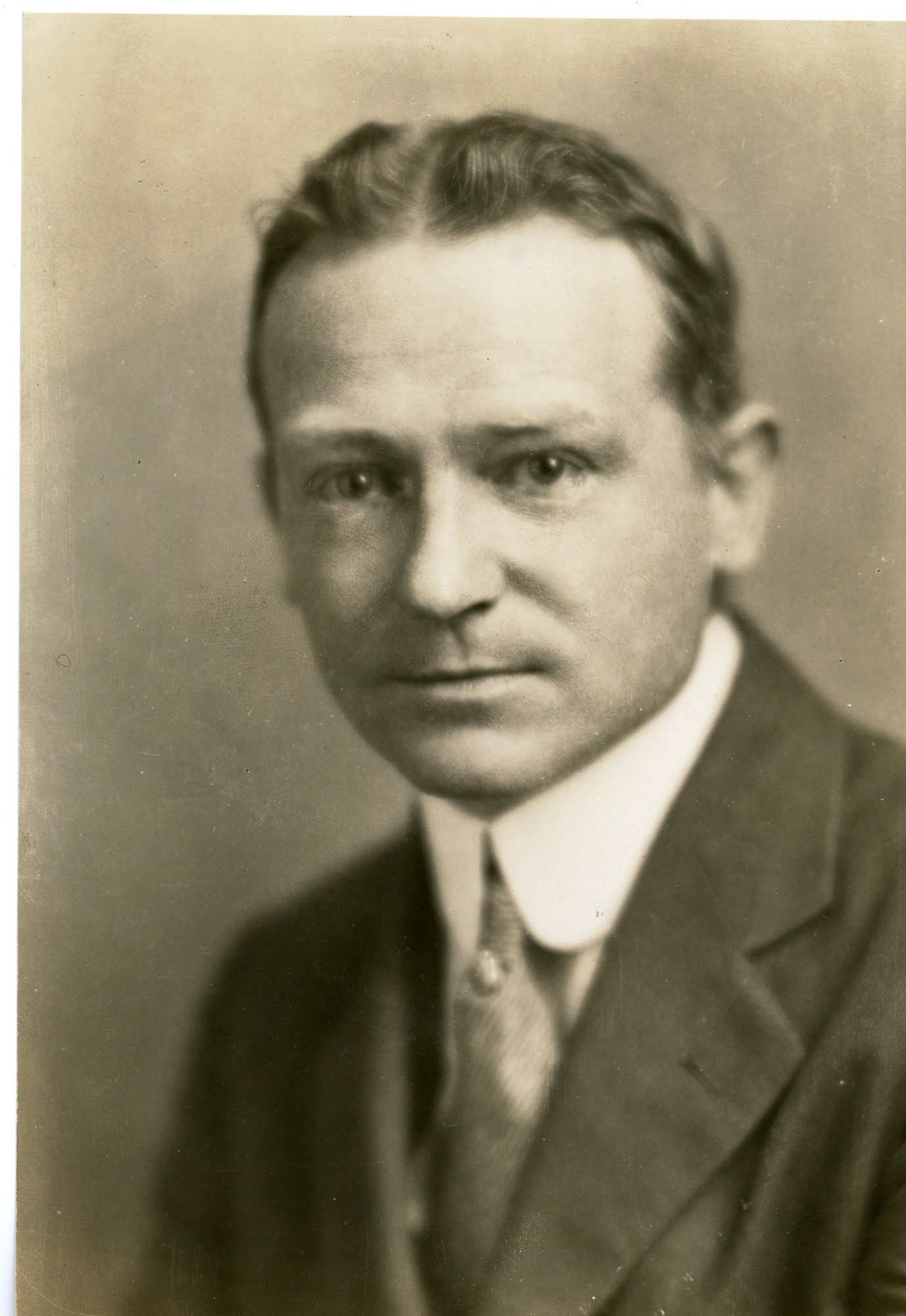 Young Austin H. Clark, 1910, by Unknown, c. 1910, Smithsonian Archives - History Div, SIA2007-0009.