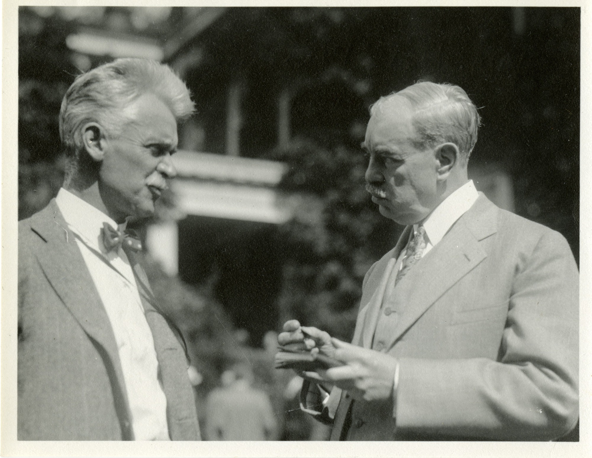 Hiram Percy Maxim (1869-1936) and Edwin Emery Slosson (1865-1929)