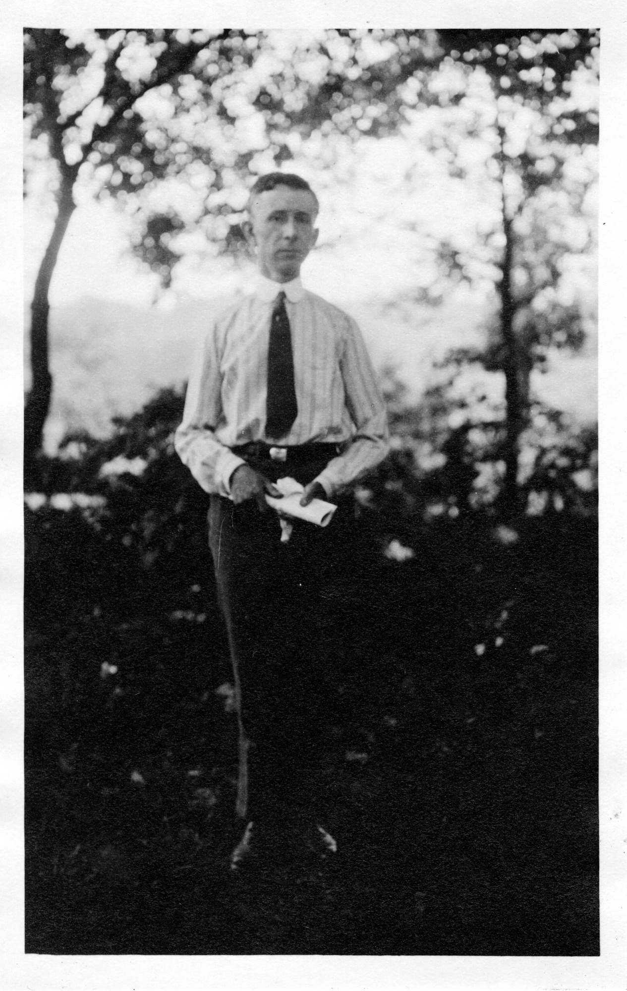 Fay-Cooper Cole (1881-1961), Smithsonian Institution Archives, SIA Acc. 90-105 [SIA2007-0115].