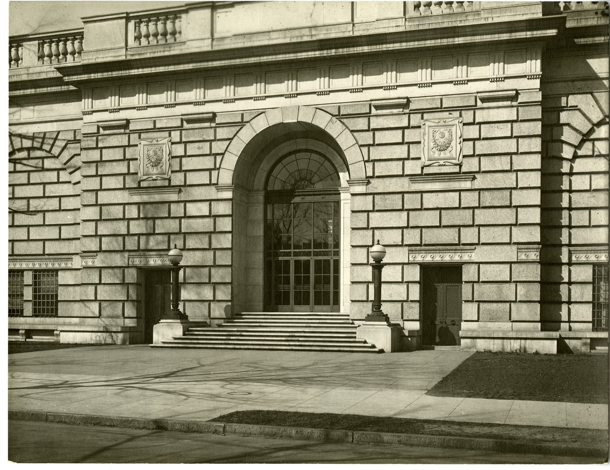South Front - Freer, by Unknown, c. 1950, Smithsonian Archives - History Div, SIA2007-0169.
